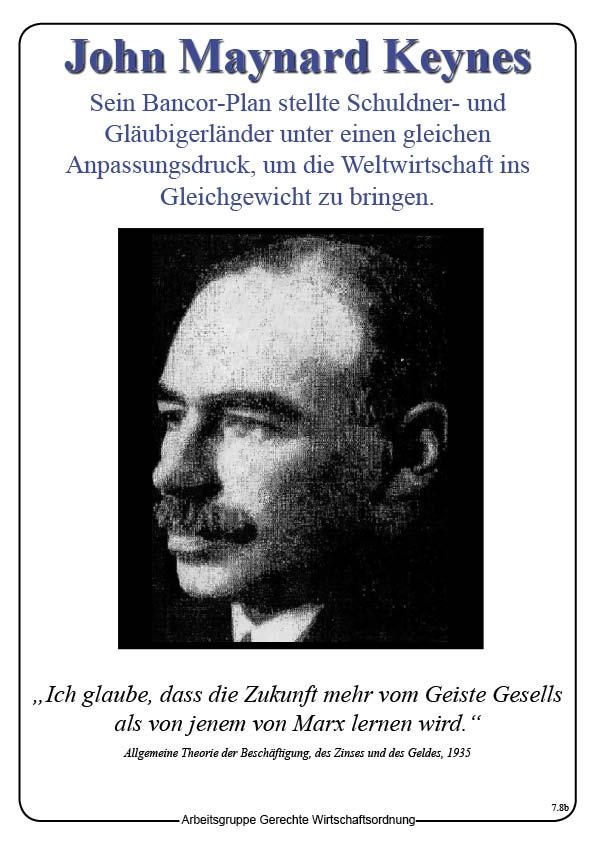 Ideengeschichte - John Maynard Keynes.